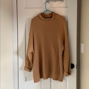 AE slouchy turtleneck sweater